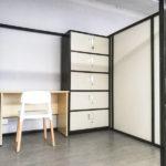 獨立工作空間可放 2-3張工作枱及大儲物櫃