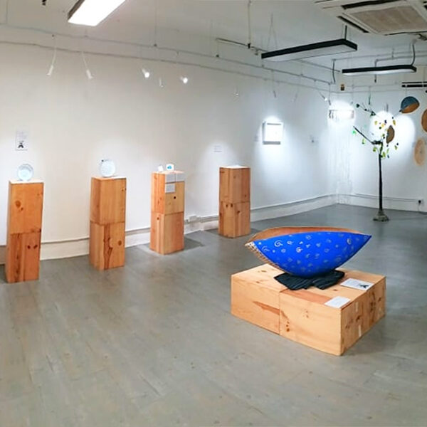 A exhibition square