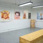畫展、影展、雕塑、裝置藝術的展覽場地